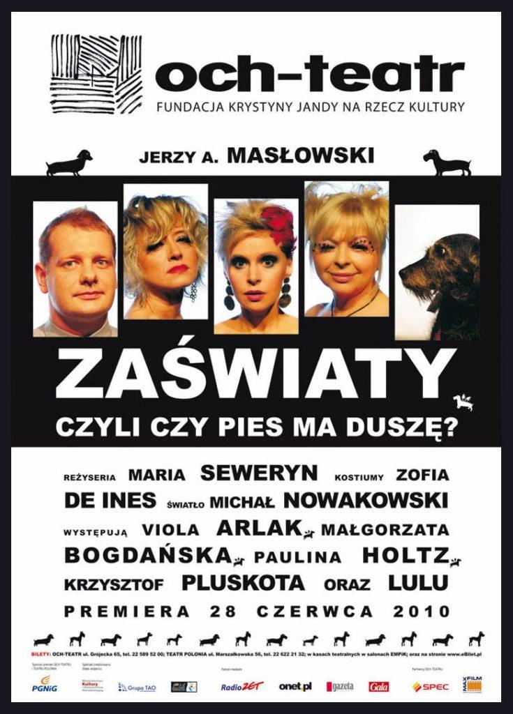 """""""Zaświaty, czyli..."""" czy pies może byc aktorem?"""