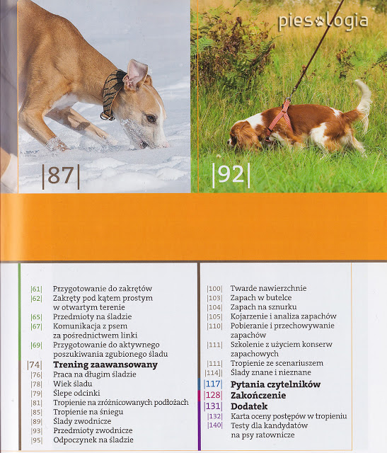 """""""Nowoczesne szkolenie psów tropiących"""" recenzja"""